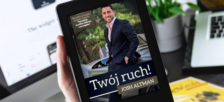 "Ebook ""Twój ruch"" - Josh Altman"
